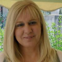 Η ζωγράφος Μαρία Σταμάτη