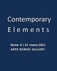 Ατομική έκθεση «Contemporary Elements» στη Ρώμη